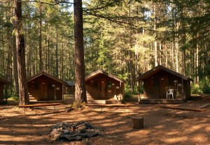 Cabin Circle at Camp Barnard